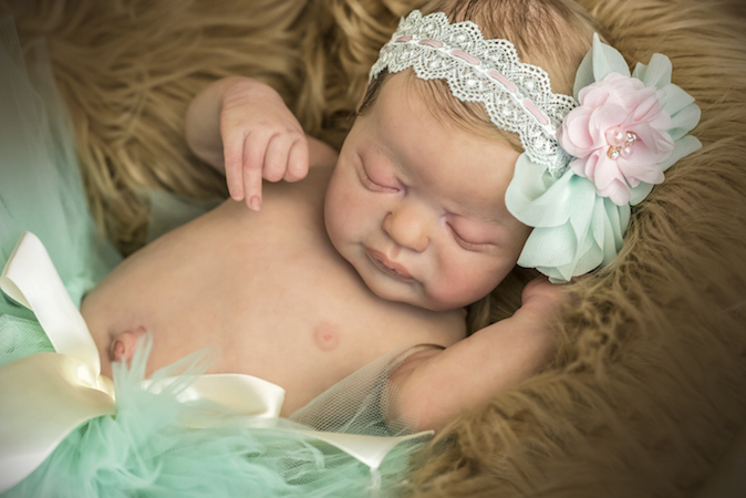 Reborn Baby Americus, Limited Edition By Laura Lee